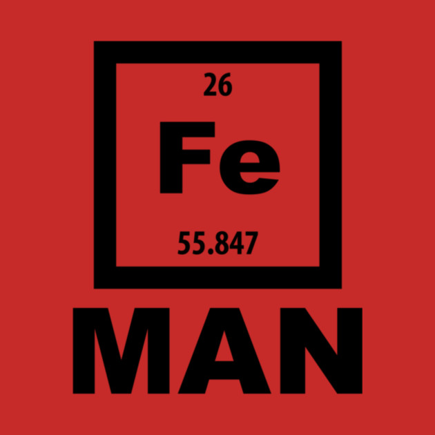 Periodic table fe man joke fe man t shirt teepublic 2267762 0 urtaz Images