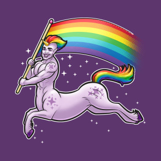 Pride Unicorn Centaur t-shirts