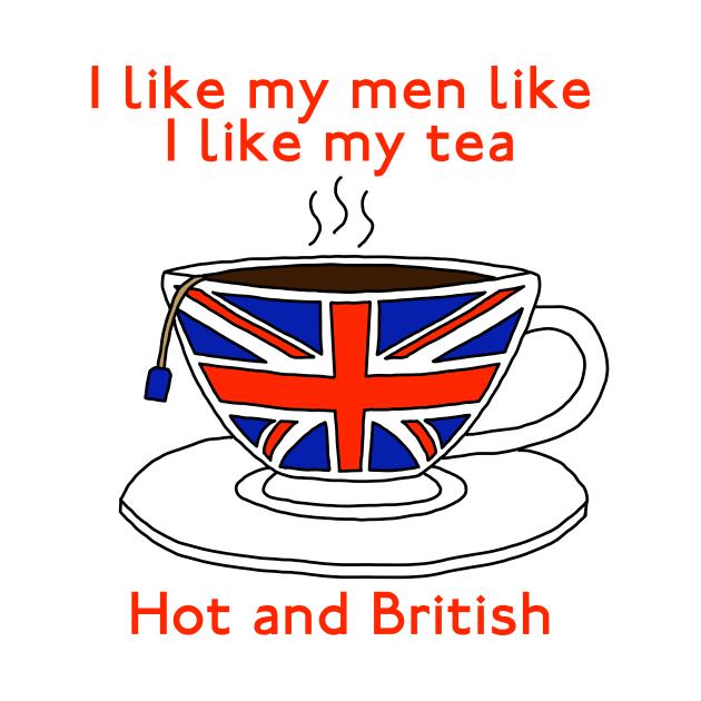 I like my men like I like my tea