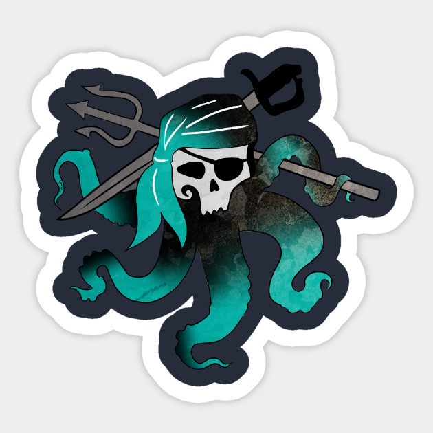 Uma Skull Descendants 2 Sticker