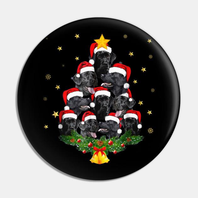 Black Lab Christmas Tree
