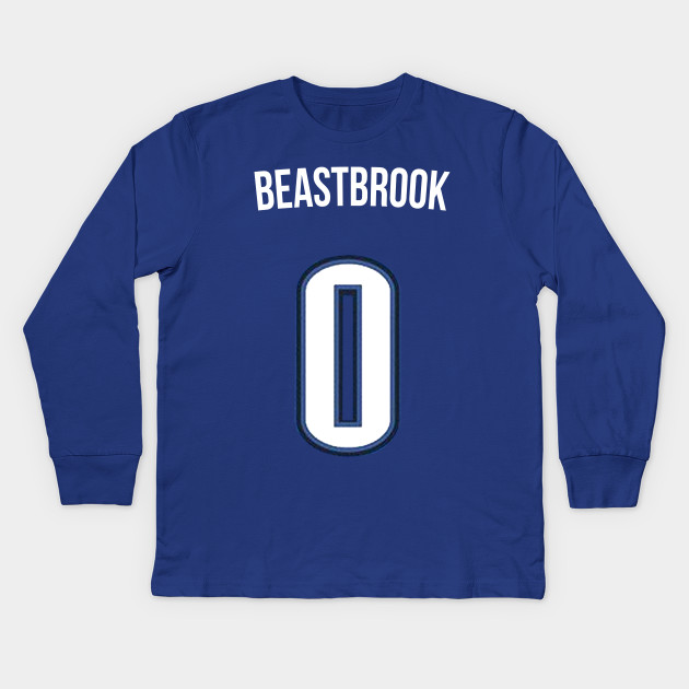 buy popular 67f78 5c232 Russell Westbrook 'Beastbrook' Nickname Jersey - Oklahoma City Thunder