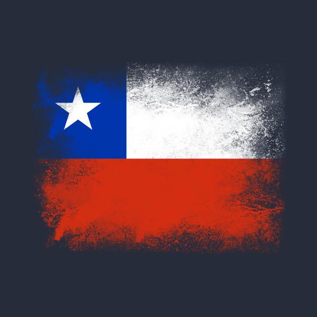 chile flag isolated chile hoodie teepublic