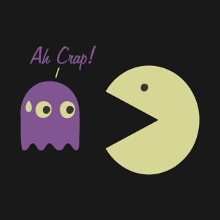 Gamer - PAC-MAN - Ah Crap! t-shirts