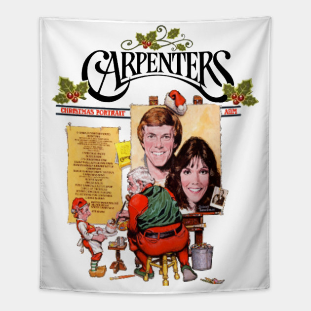 Carpenters Christmas Portrait.The Carpenters Christmas T Shirt By Redheadguy