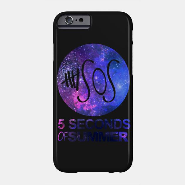 c0bc682c1b8b 5SOS Five Seconds Of Summer Logo Circle Galaxy White - Nerd - Phone ...