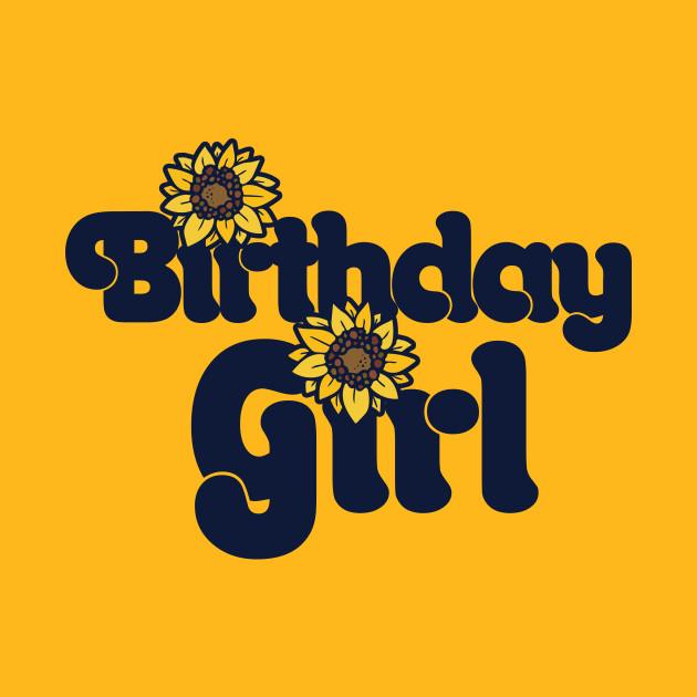 Birthday Girl Sunflower Birthday Party