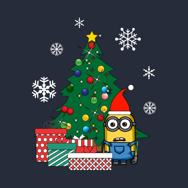 Minion Gifts Under The Christmas Tree
