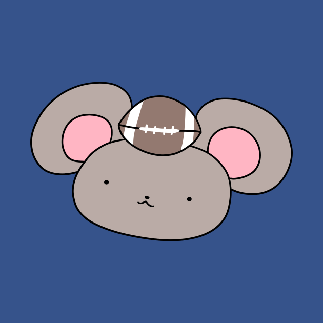 Football Mouse Face