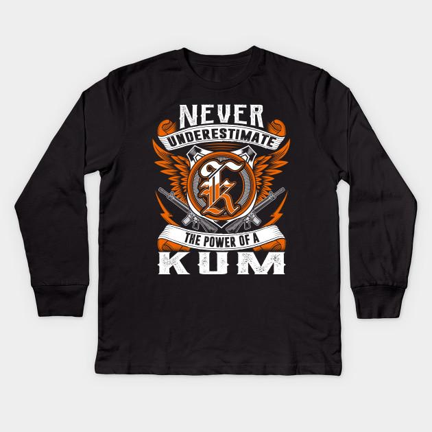 Never Underestimate The Power of KUM Hoodie Black