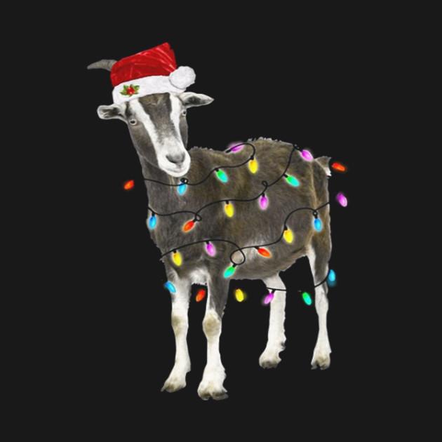 Christmas Goat.Goat Christmas Light Xmas