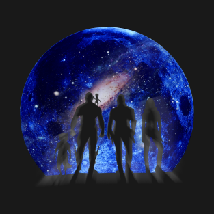 Guardians of the Galaxy Silhouette