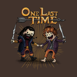 One Last Time t-shirts