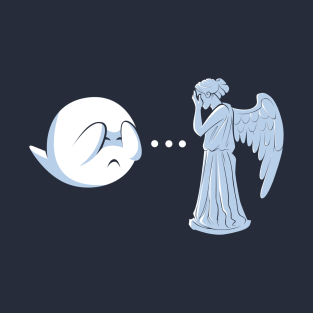 Boo vs. Angel t-shirts