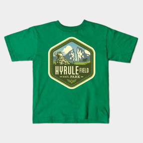 Hyrule Field National Park kids-t-shirt