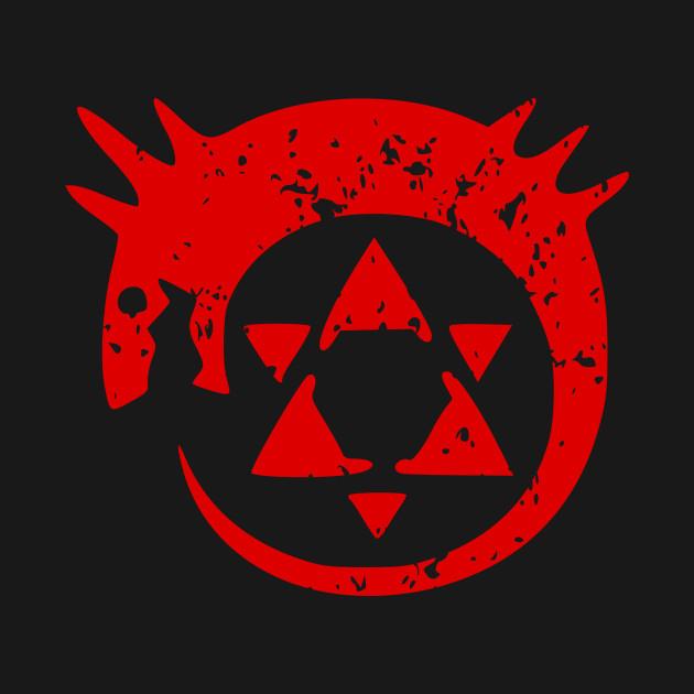 Homunculus Symbol Fullmetal Alchemist Onesie Teepublic