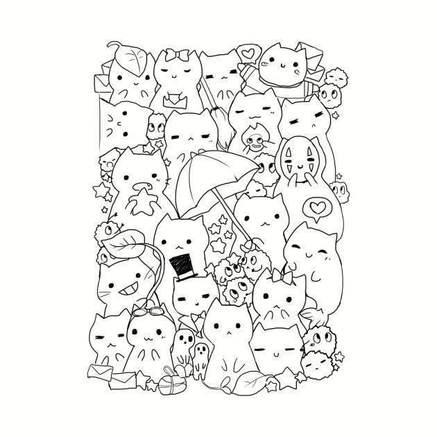 Ghibli cats