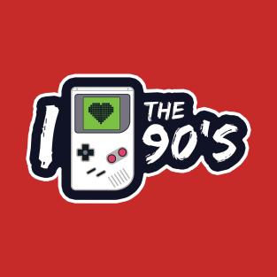 I Heart the 90's t-shirts