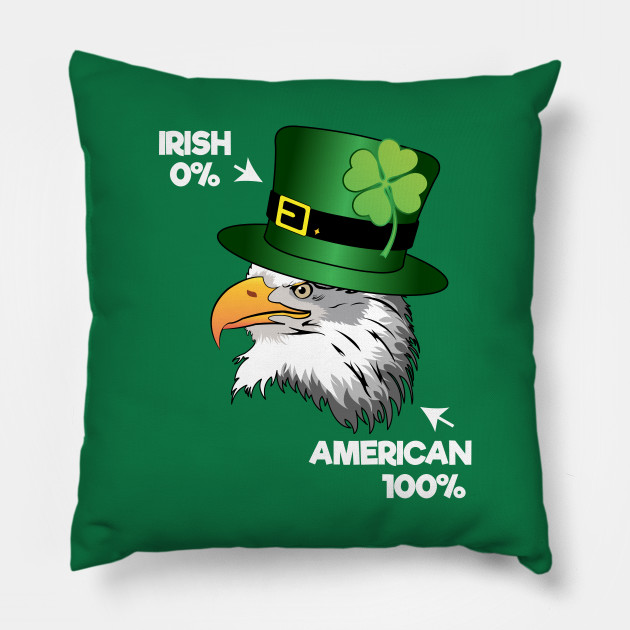 Irish American Funny Eagle Leprechaun Hat Gift