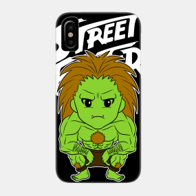 Blanka Street Fighter Phone Cases - iPhone and Android