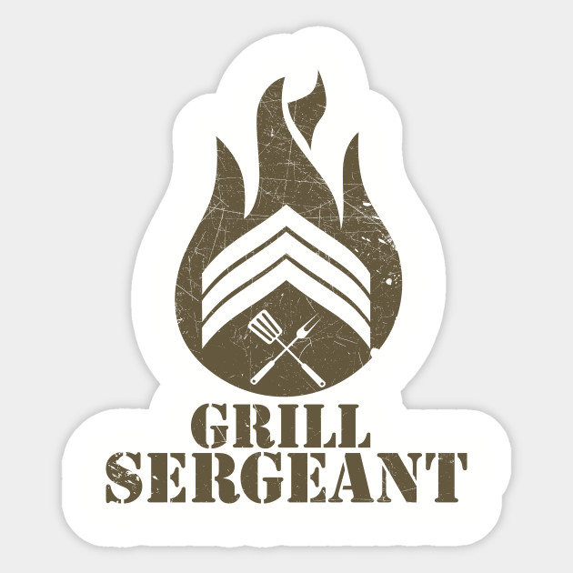 GRILL SERGEANT (BROWN)