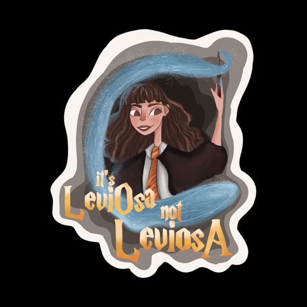 It's LeviOsa not LeviosA