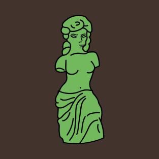 Venus de milo t-shirts