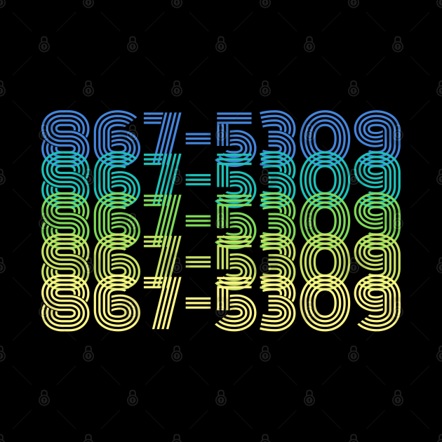 867-5309 (Blue) - The 1980s Most Famous Phone Number - Song Lyrics