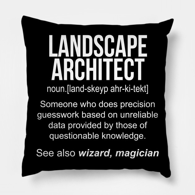 4066a461f Landscape Architect noun definition funny shirt T-Shirt - Funny ...