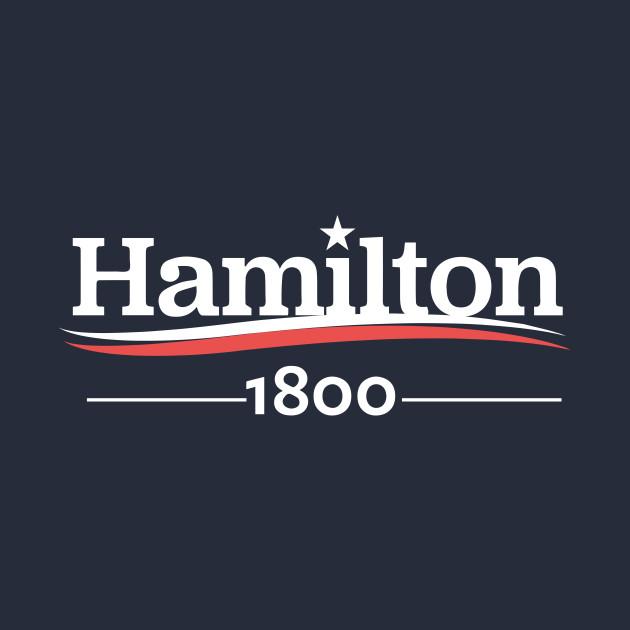 HAMILTON Musical ALEXANDER Hamilton 1800 Burr Election of 1800