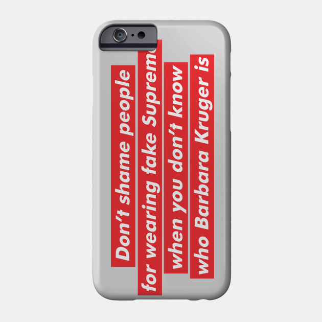 Supreme case iphone xr