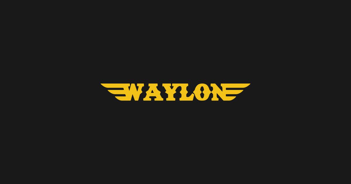 Waylon Jennings Logo by dreadpyrat