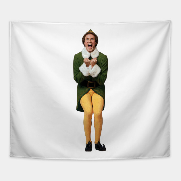 Will Ferrell Christmas Movie.Buddy The Elf Is Excited Will Ferrell Funny Christmas Movie Omg