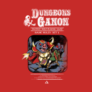 Dungeons and Ganon t-shirts