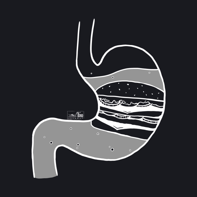 Food in My Stomach - Burger