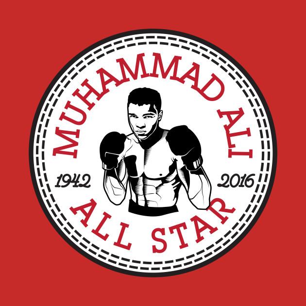 Muhammad Ali All Star Converse Logo