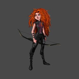 Hawkeye Merida t-shirts
