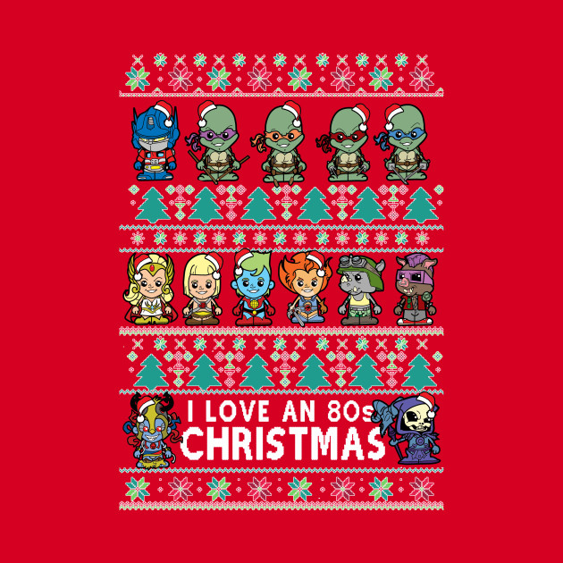 official supplier how to choose exceptional range of colors lil 80s cartoon Christmas Jumper