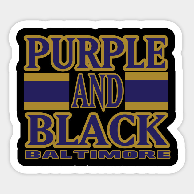 Baltimore LYFE Purple and Back Football Colors!