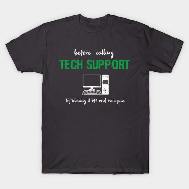 Tech Support IT Support Gift funny