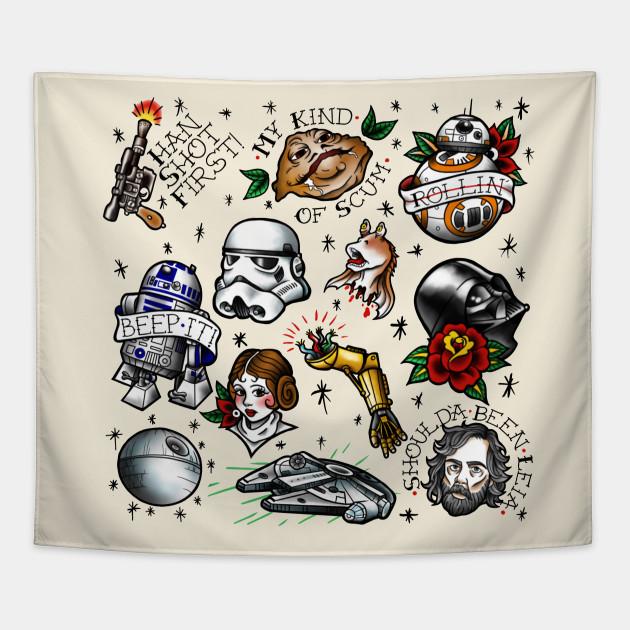 Star Wars Flash Star Wars Tapestry Teepublic