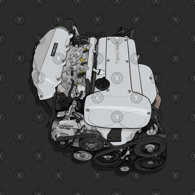 4AGE silvertop twincam 20v engine (AE86)