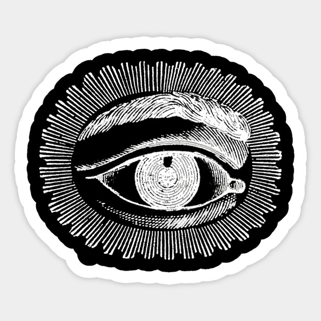 Eye See You Sticker