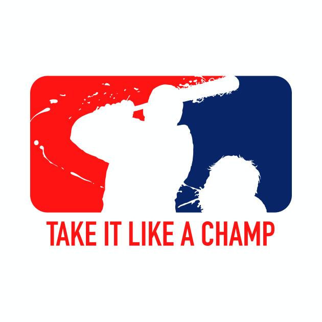 Take It Like A Champ - Negan (White)