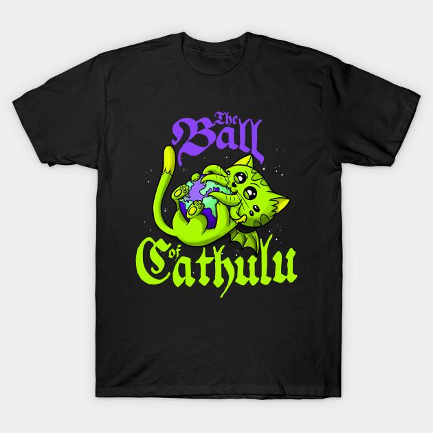 Cthulhu tshirt hears a who?