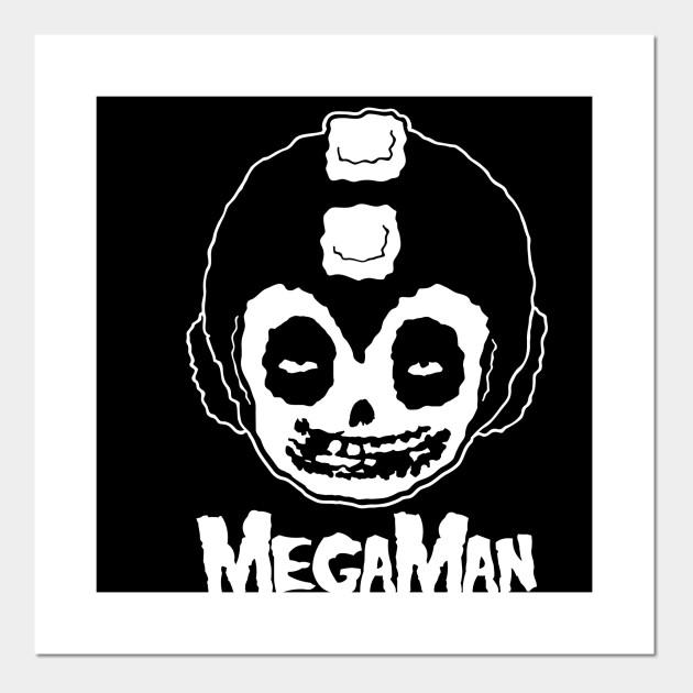 80db9e9b1b44b MEGAMAN MISFITS - Rock - Posters and Art Prints