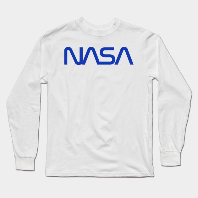 752af51ca32f75 Nasa - Blue - Nasa - Long Sleeve T-Shirt | TeePublic