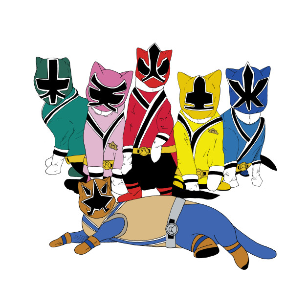 Not see power rangers samurai simply