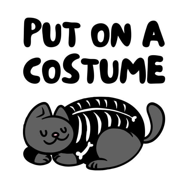 Cat Skeleton Costume