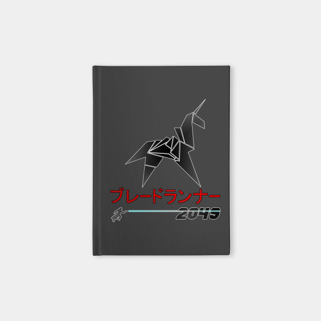 Blade Runner 2049 Origami Unicorn Katakana shirt